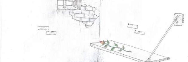 Un fiore nel cemento – disegni e versi