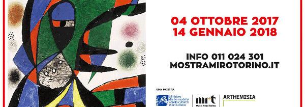 Torino: i colori di Mirò a Palazzo Chiablese