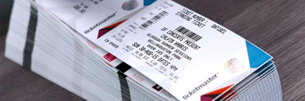 Al concerto con il biglietto nominale